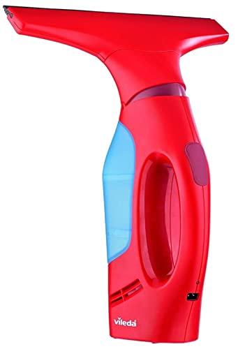 Vileda Windomatic Fenstersauger mit flexiblem Kopf für streifenfreie Fenster