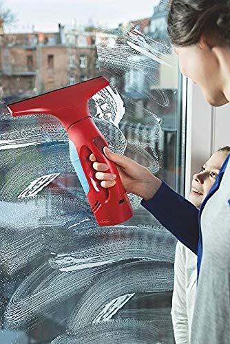Vileda Windomatic Fenstersauger mit flexiblem Kopf für streifenfreie Fenster - 5
