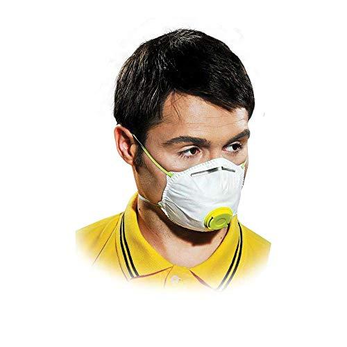 10x Atemschutz Staubschutzmaske Maske mit Ventil FFP1