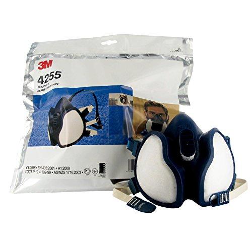 3M Halbmaske 4255, FFA2P3RD, gegen organische Gase und Dämpfe sowie Partikel - 4