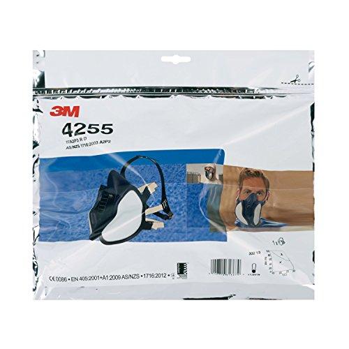 3M Halbmaske 4255, FFA2P3RD, gegen organische Gase und Dämpfe sowie Partikel - 5
