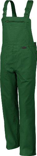 Qualitex Arbeits-Latzhose BW 270 - mehrere Farben 50,Grün