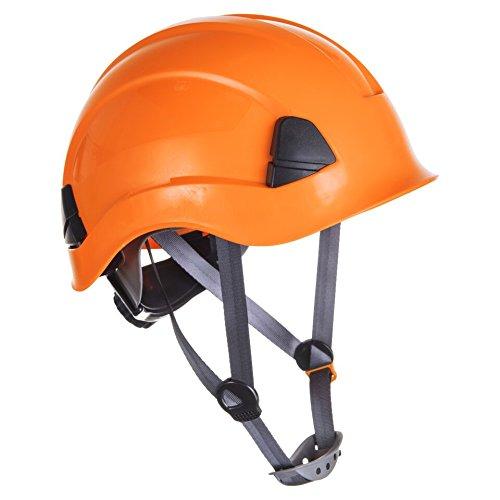Fallschutz- Set- Absturzsicherung für Industrie im Set inkl. Helm (Helm in versch. Farben auswählbar) für Höhenarbeiten- CE zertifiziert (Orange) - 6