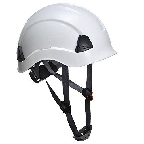 Fallschutz- Set- Absturzsicherung für Industrie im Set inkl. Helm (Helm in versch. Farben auswählbar) für Höhenarbeiten- CE zertifiziert (Orange) - 7