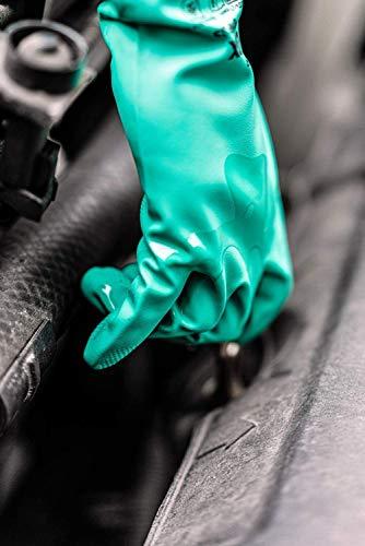 Uvex Nitril- / Chemikalienhandschuh – Hochwertiger Schutzhandschuh gegen chemische und mechanische Risiken (10) - 6