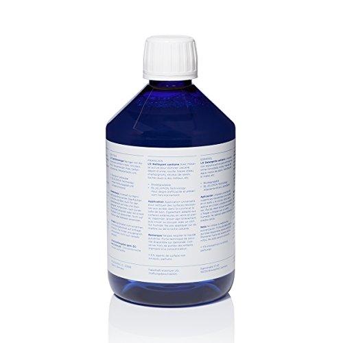 L3 Profi Sanitärreiniger in 500ml Flasche   BLUELEMON L3   Für Bad und Küche   Hoch konzentriert   Biologisch   Für Kalkstein und Urinstein - 2