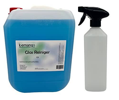 """Glasreiniger beClean """"clear"""" 10l Kanister mit einer Sprühflasche"""
