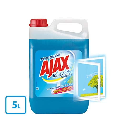 AJAX Glasreiniger 3-Fach Aktiv, 1er Pack (1 x 5 l) - 4